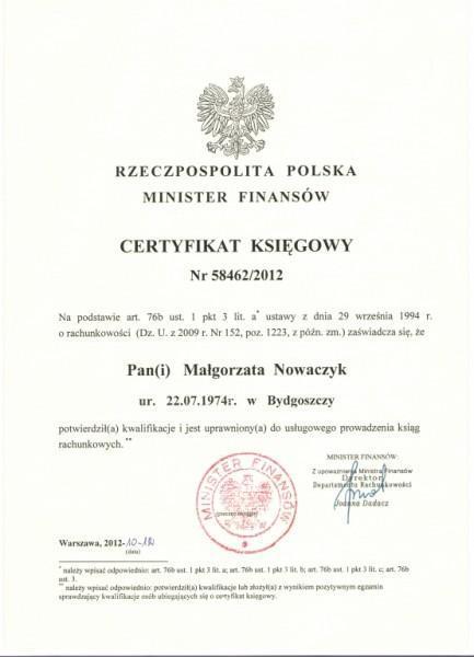 Certyfikat-MF
