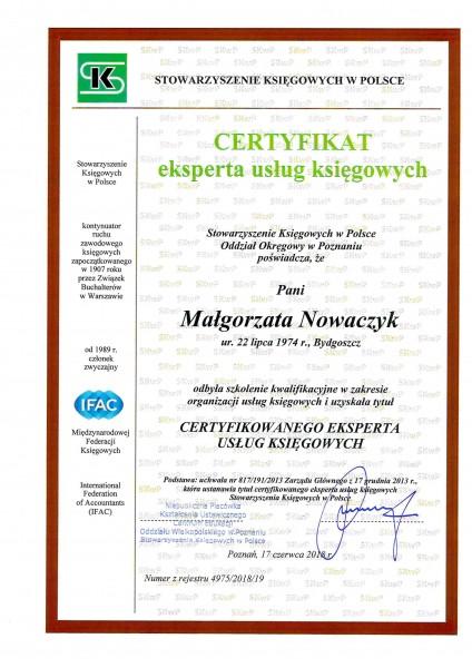 certyfikat-eksperta